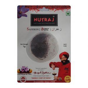 Nutraj Saffron Blister Pack 1 g