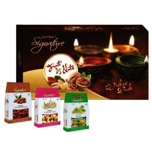 Nutraj Signature 3 Nuts Wishes Gifting 600 g
