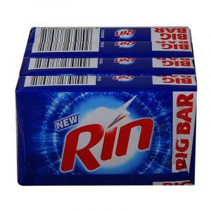 Rin Detergent Bar 4 N (250 g Each)