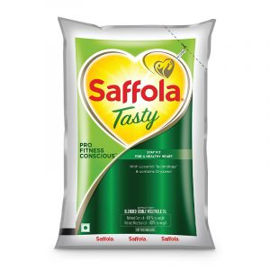 Saffola Tasty Pro Fitness Conscious Edible Oil- 1 L Pouch