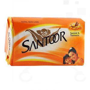 Santoor Sandal & Turmeric Soap 4 N (125 g Each)