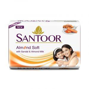 Santoor White Soap 3 N (150 g Each)