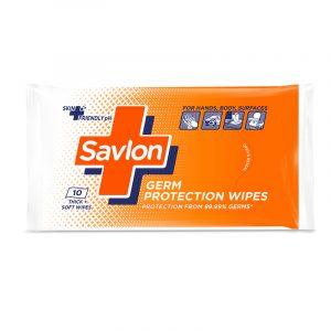 Savlon Germ Protection 10 N Wipes 1 N