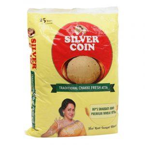 Silver Coin Chakki Atta 5 kg