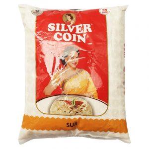 Silver Coin Sooji 1 kg