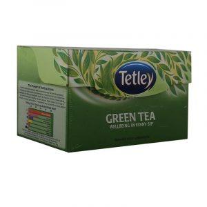 Tetley Green Tea Bag Regular Sachet, 25 N