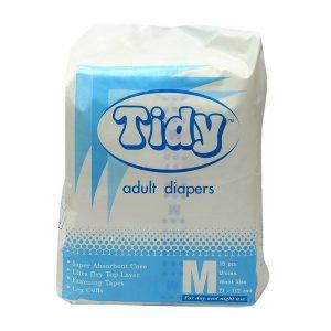 Tidy Adult Diaper Medium , 10N