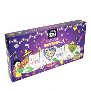 Wonderland Festive Fiesta Dry Fruit Gift Pack, 600 g