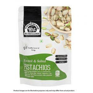 Wonderland Roasted & Salted Pistachios 200 g