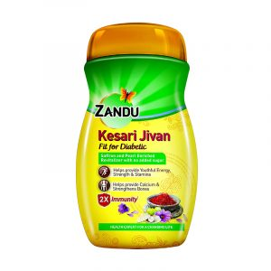Zandu Sugarfree Kesari Jivan 450 g