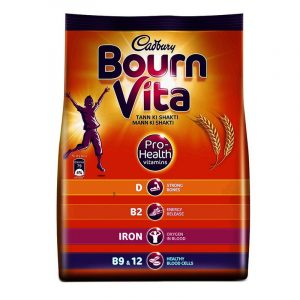 Cadbury Bournvita Chocolate Health Drink Refill, 500 g