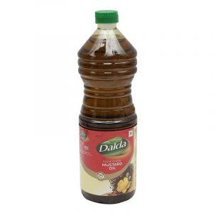 Dalda Kachi Ghani Mustard Oil Bottle, 1 L