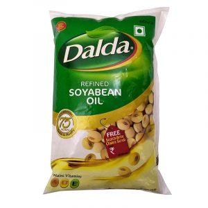 Dalda Soya Oil Pouch, 1 L