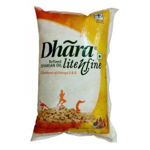 Dhara Soyabean Oil 1 L