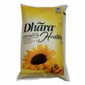 Dhara Sunflower Oil 1 L