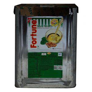 Fortune Soyabean Oil Tin, 15 L